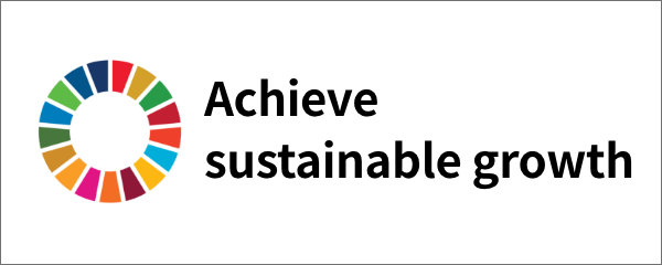 Achieve sustainable growth