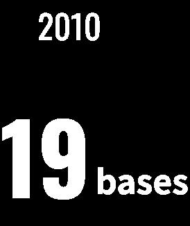 19 bases